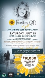 R191 Noelle's Gift - Gift of Golf - Quarter Page Sarnia Journal-