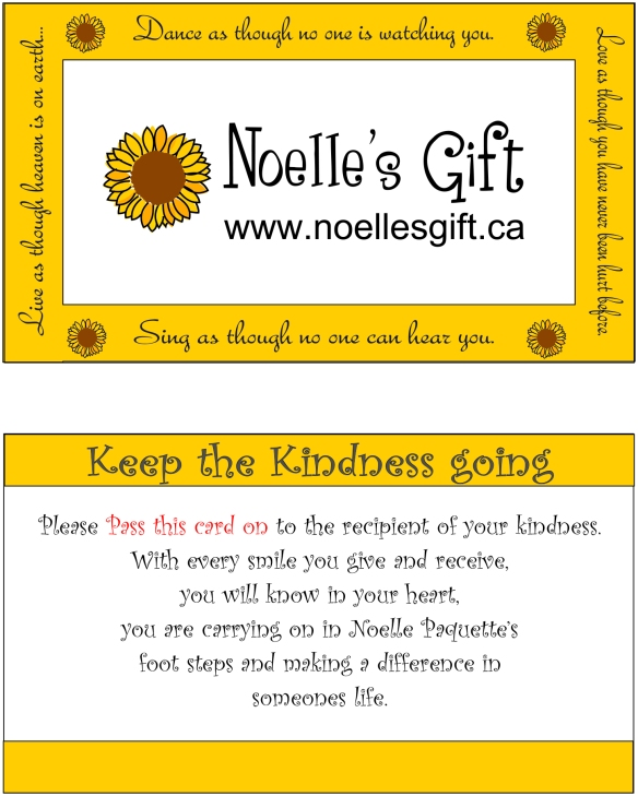 act of kindness card